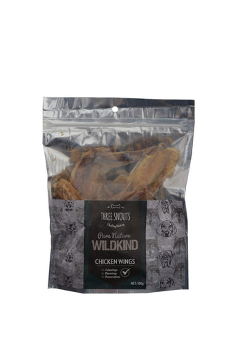 Three Snouts-Pure Nature WILDKIND Chicken Wings 100g