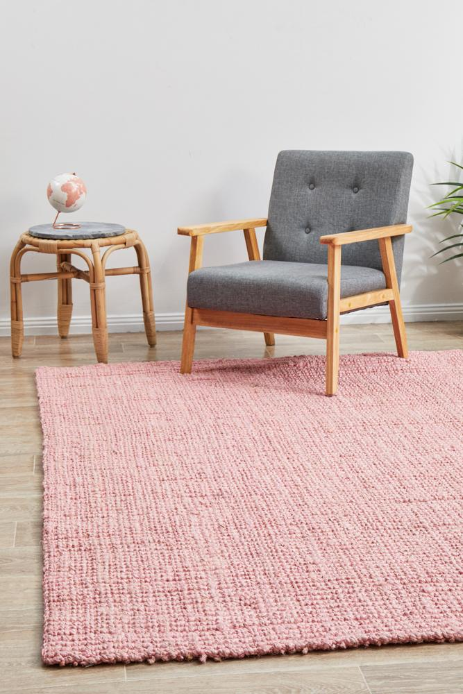 Atrium Barker Pink Rug {As Featured by The Hectic Eclectic}