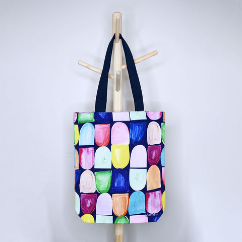 Coloured Hills Tote Bag