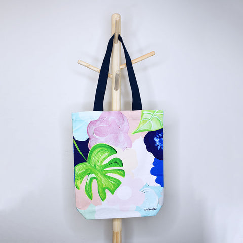 Bold Floral Tote Bag