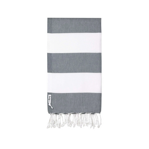 Knotty Towels- Capri Turkish Towel - CHARCOAL
