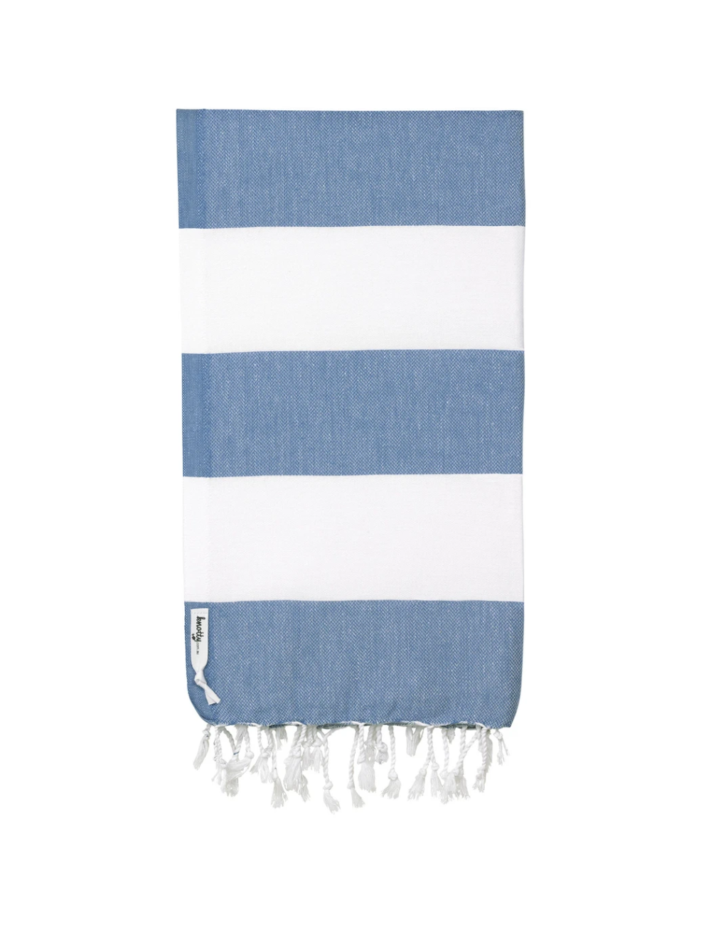 Knotty Towels- Capri Turkish Towel - DENIM