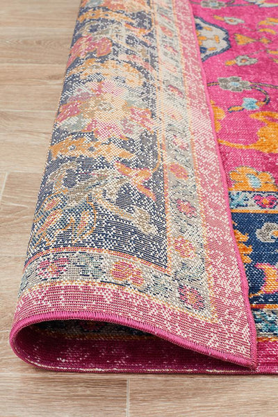 Eternal Whisper Corners Pink Rug {As Featured by The Hectic Eclectic}