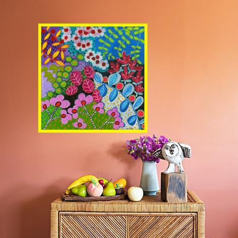 Flower Festival Art Print by Kristen Thompson