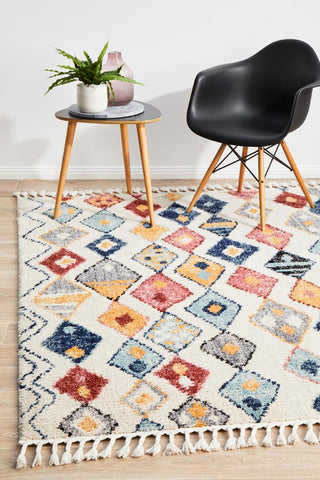 Marrakesh Earth-Multi Rug