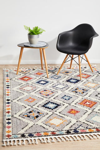 Marrakesh Grey-Multi Rug