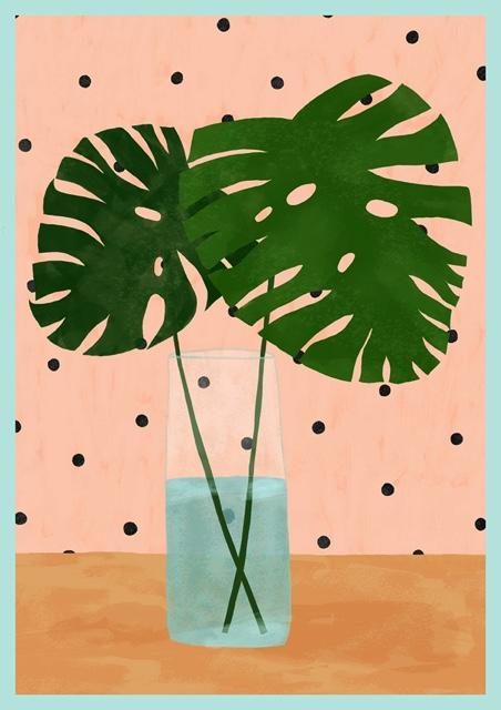 Monstera Mood Art Print by Brook Gossen