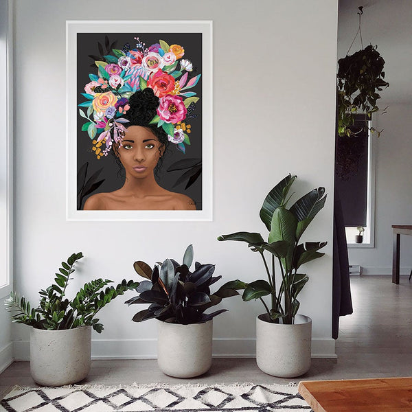 Nylah Black - Art Print