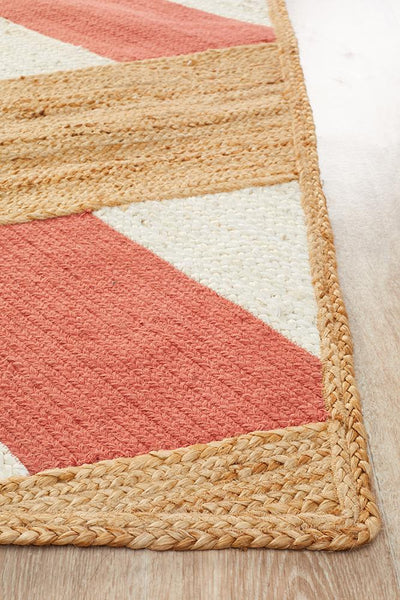 Parade Abstract Coral Rug