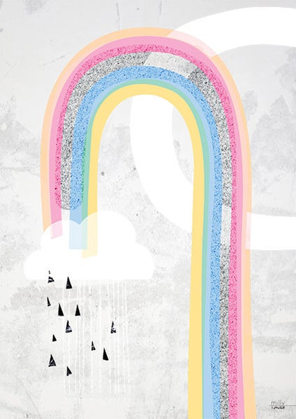 Rainbow Dreams- Art Print