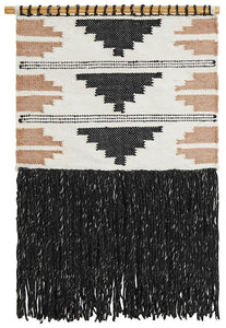 Rug Culture Home 440 Charcoal Wall Hanging