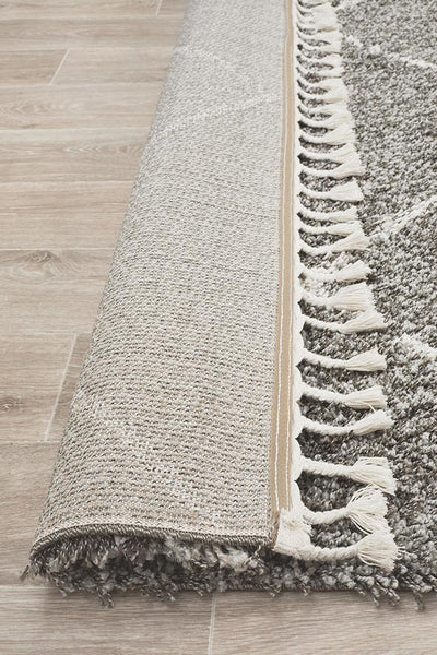 Saffron Simple Grey Rug