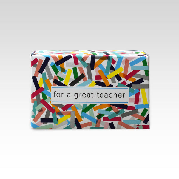 For a Great Teacher Soap