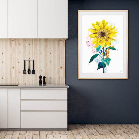 Sunflower- Art Print