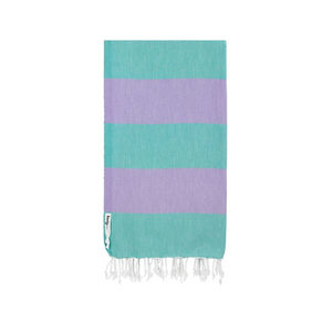 Knotty Towels- Superbright Turkish Towel - HARLEQUIN