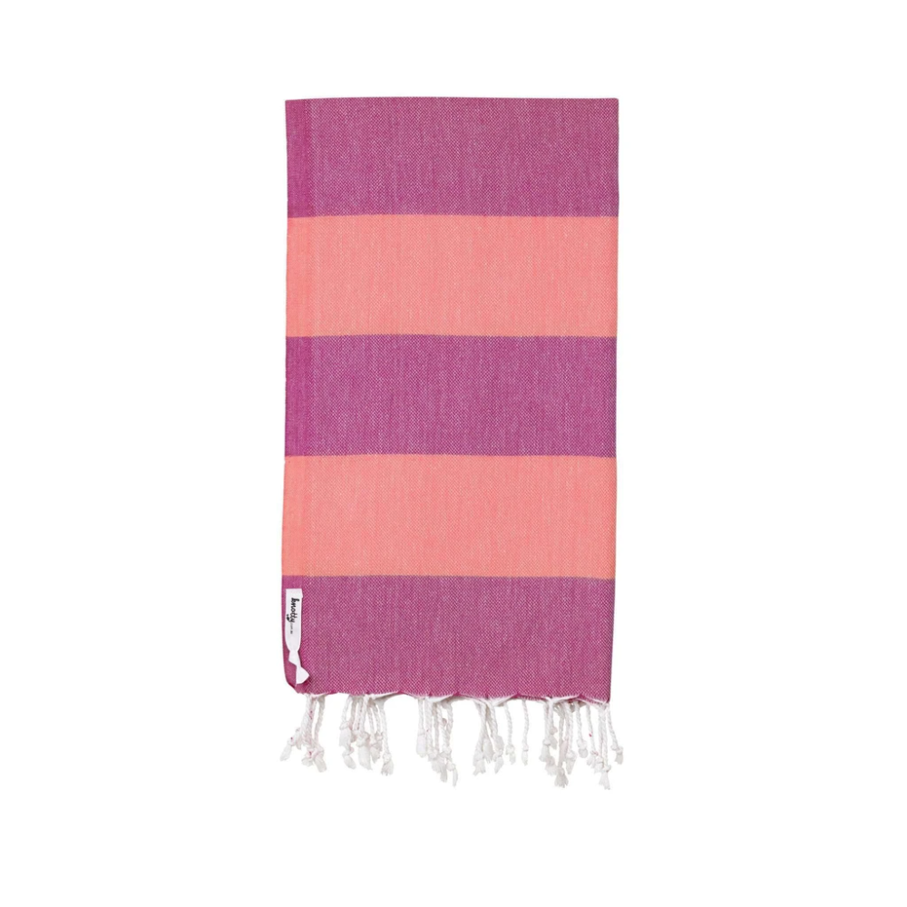 Knotty Towels- Superbright Turkish Towel - CANDY1