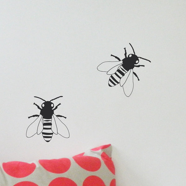 Bee Wall Stickers LARGE