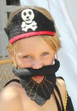 Felt Costume Crown/Headdress - Pirate Set