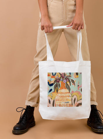 Cotton Tote Bag: Hidden Gems of the Garden