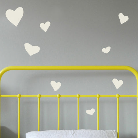 Heart Wall Stickers (Hand Drawn)