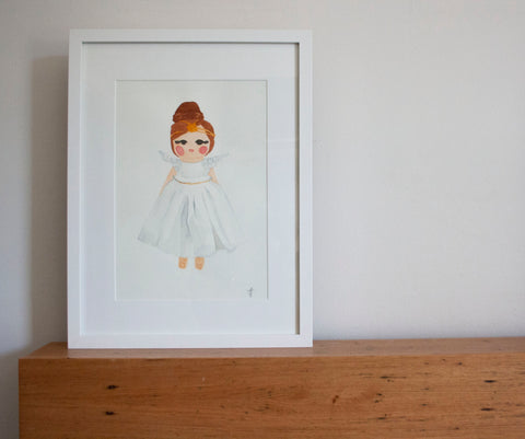 Penny Angel White – Limited Edition Fine Art Print