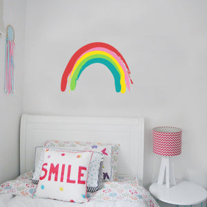 Rainbow Painted Wall Sticker
