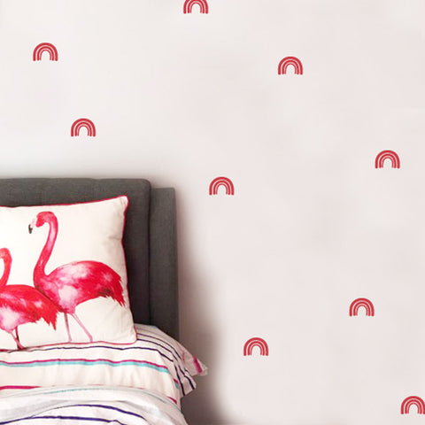 Rainbow Wall Stickers (Hand Drawn)