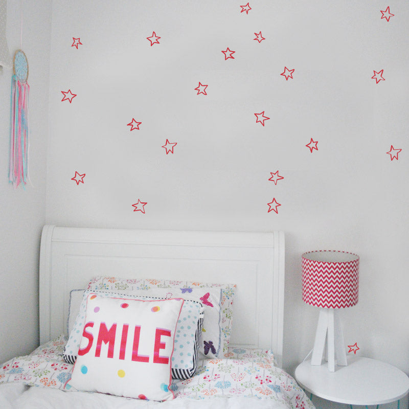 Star Wall Stickers (Hand Drawn)