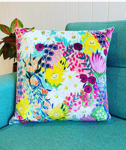 That Floral Feeling - Cushion Cover