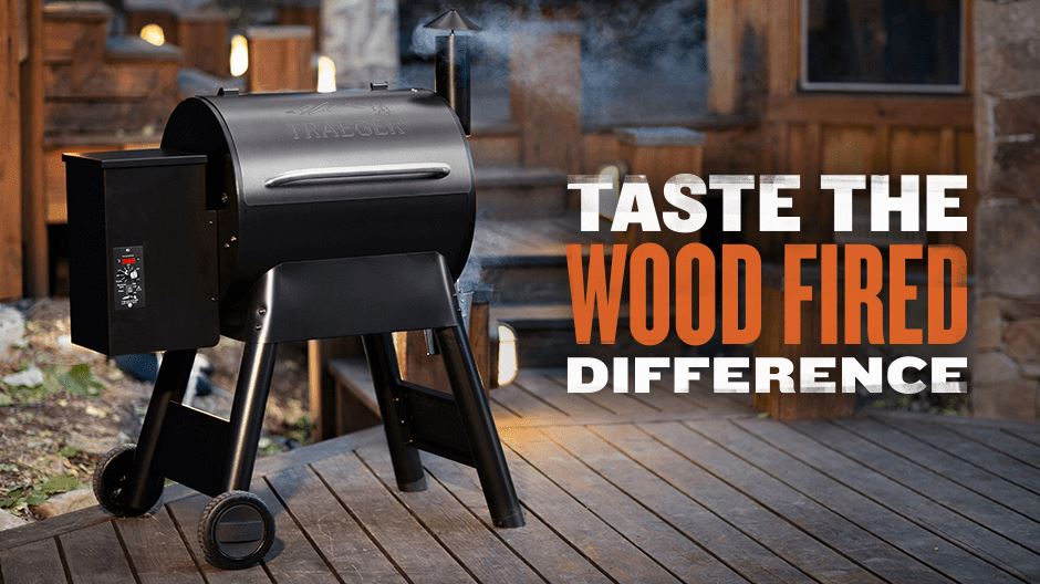 traeger wood fired difference - the stove center