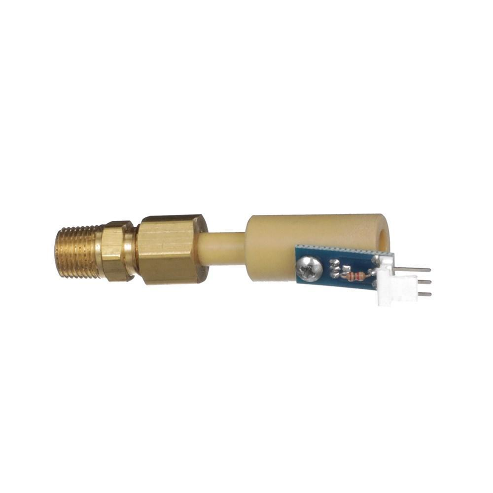 00-0005-0027 | T-1 Sensor Mounted With Brass Fitting Used In All Thelin Stoves, 00-0005-0027