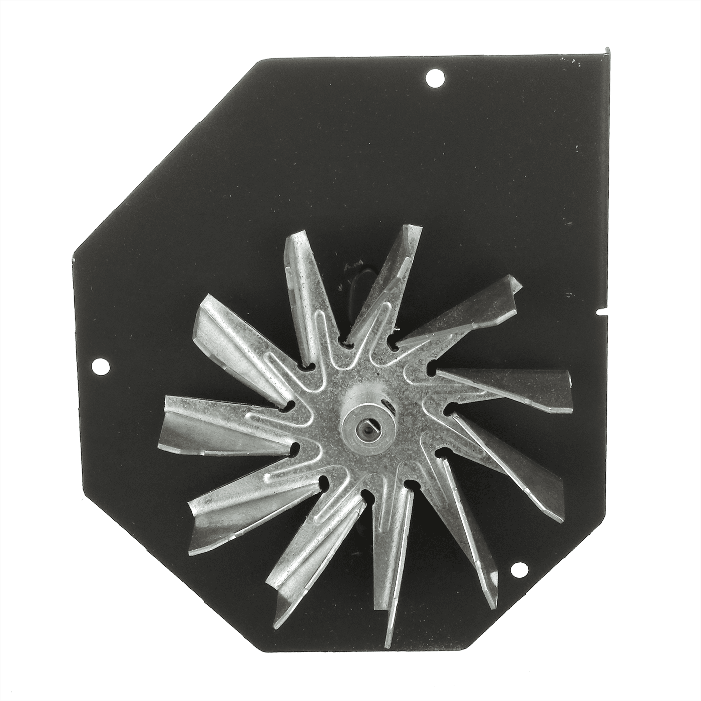 00-0005-0175IM | Thelin ExMek Fan Motor With metal fan blade & Gasket Fits All Thelin Pellet Stoves, 00-0005-0175IM