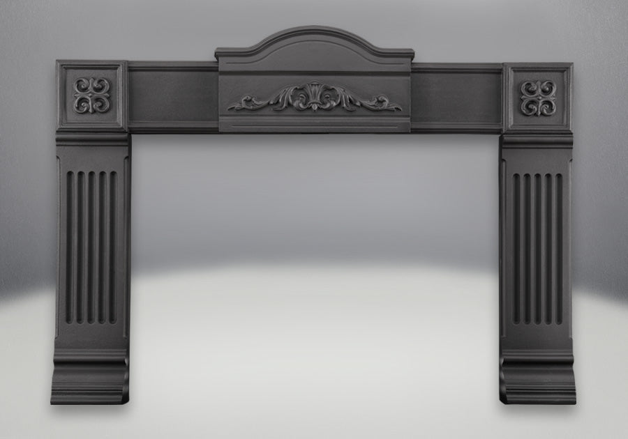 Napoleon Surrounds * Black Cast Iron Surround