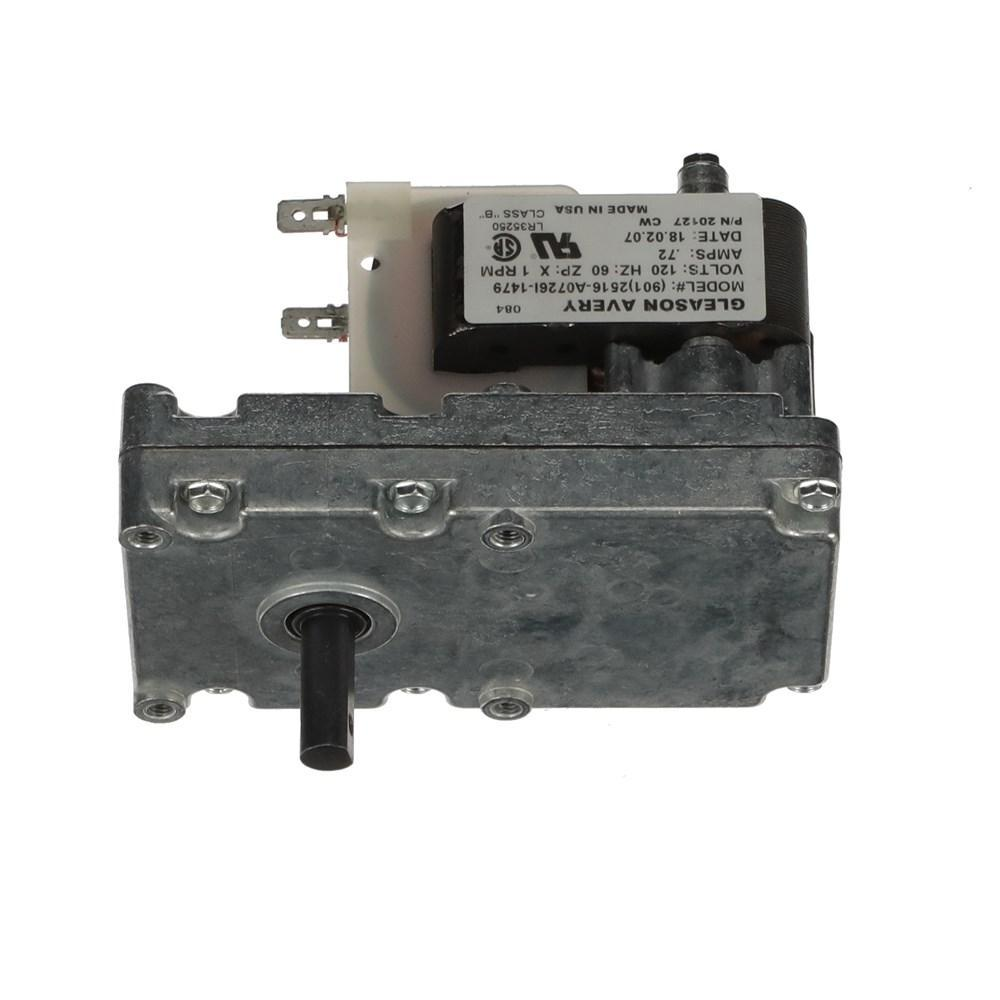 Enviro 1RPM CW Pellet Stove Auger Motor Part# EF-001, Made in USA b y Gleason Avery, SP4L-700-GA-5