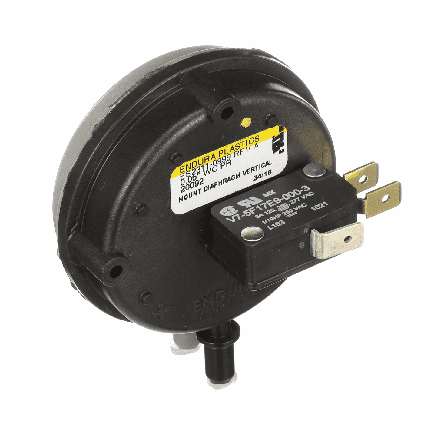 Englander Vacuum Switch, CU-VS-AMP