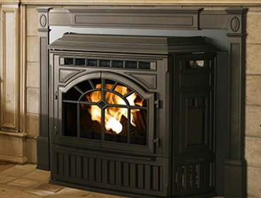 Quadrafire Surrounds * Matte Black Cast Trim Surround