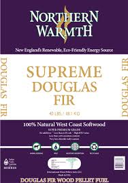 Northern Warmth Supreme Douglas Fir Wood Pellets - 1 Ton - PICK UP ONLY