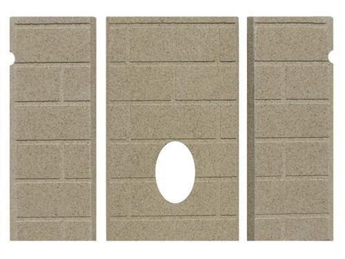 PP1001 | Whitfield Firebrick 24220200 Advantage I & II, 3 piece,13-7/8' tall, PP1001