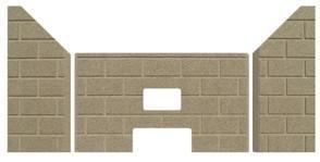 PP1010 | Whitfield T-300P part # 20950150 Firebrick. PP1010