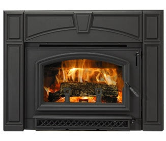 Quadrafire Surrounds * Full Cast Black Surround