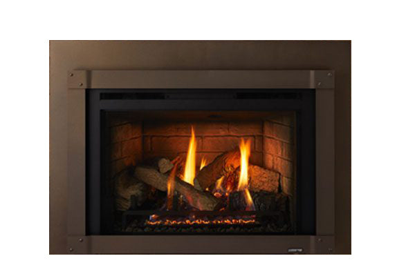 "Quadrafire Surrounds * Sienna Bronze Small Surround, 40"" x 27"""