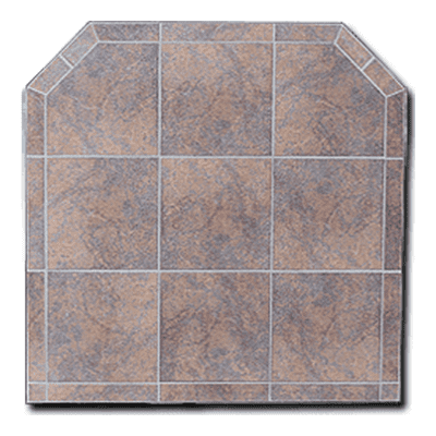 Hudson River Africa Tile Hearth Board