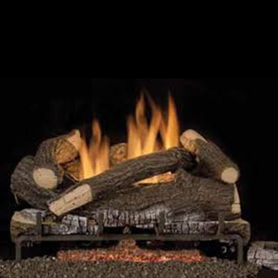 Astria Scarlett Oak, Tri-Flame Series VF Log Set