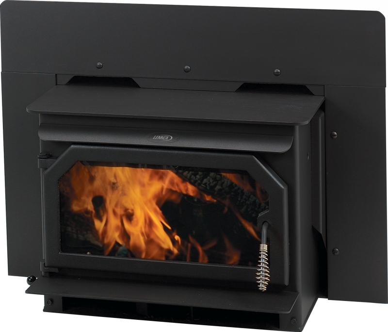 Ironstrike Trim Finish * Black Stove Surround Trim