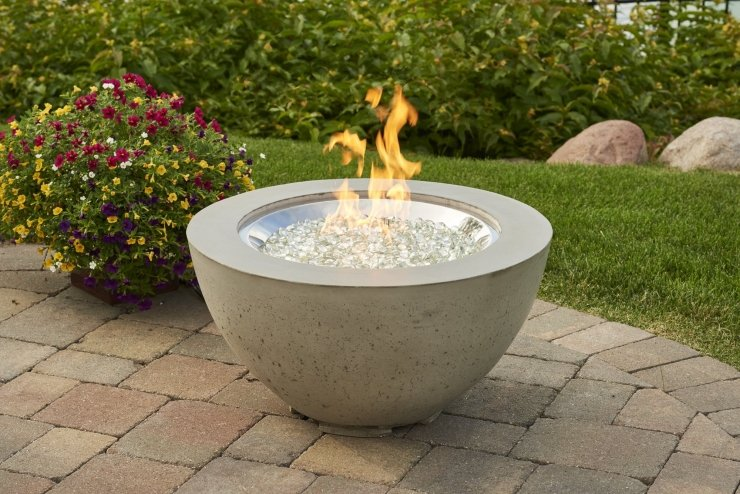 "Cove 20"" Gas Fire Pit Bowl"