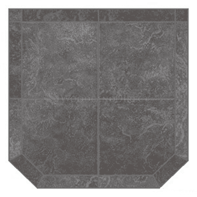 American Panel Glacier Gray Hearth Board