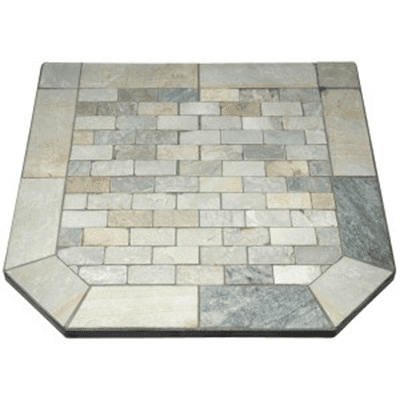 American Panel Rustique Quartz Hearth Board