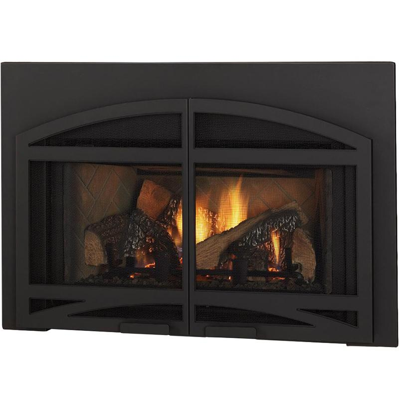 "Quadrafire Surrounds * Classic Black Large Surround, 44"" x 32"""