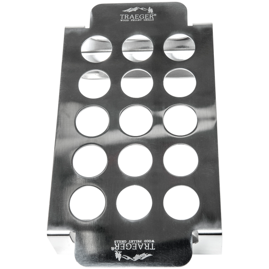 BAC424 | Traeger Stainless Steel Smoked Jalepeno Popper Tray, BAC424