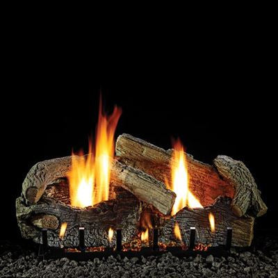 White Mountain Hearth Stacked Aged Oak VF